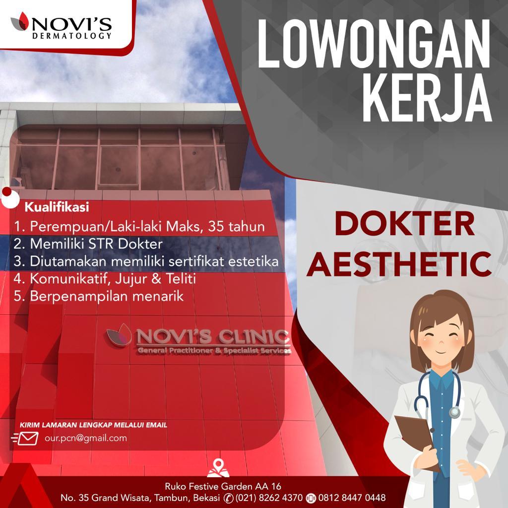 Loker Dokter NOVI'S Dermatology