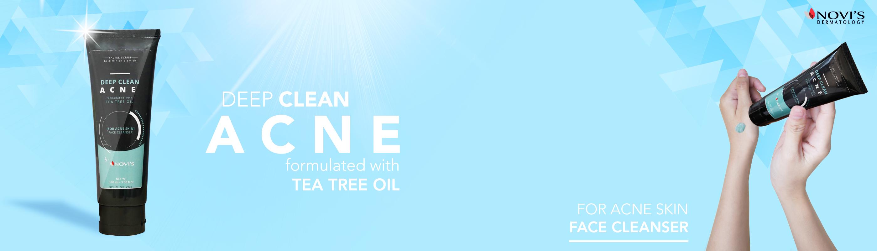 Banner web Faisal Wash acne