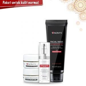 Paket 1 Perawatan Wajah Untuk Kulit Normal NOVI'S