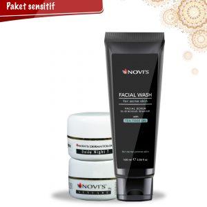 Paket 2 Perawatan kulit untuk kulit sensitif, NOVI'S