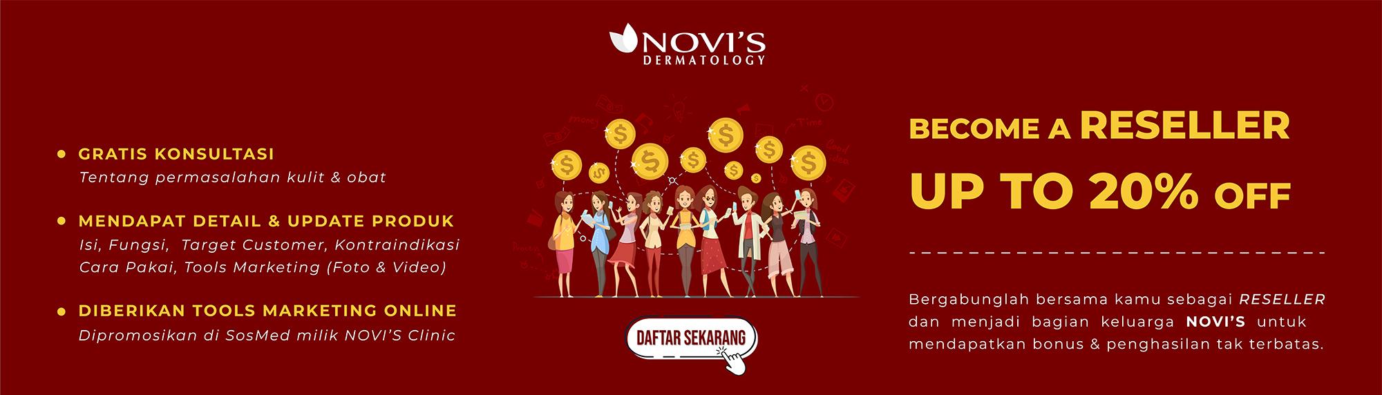 Reseller NOVI'S